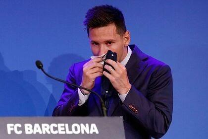 Месси отказался прощаться с «Барселоной»