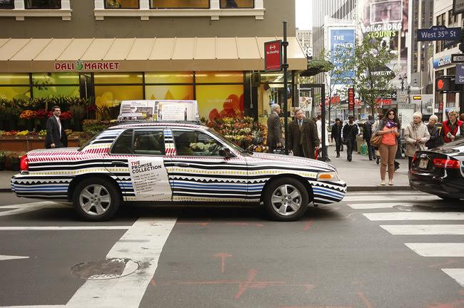 Hilfiger cab, NYC