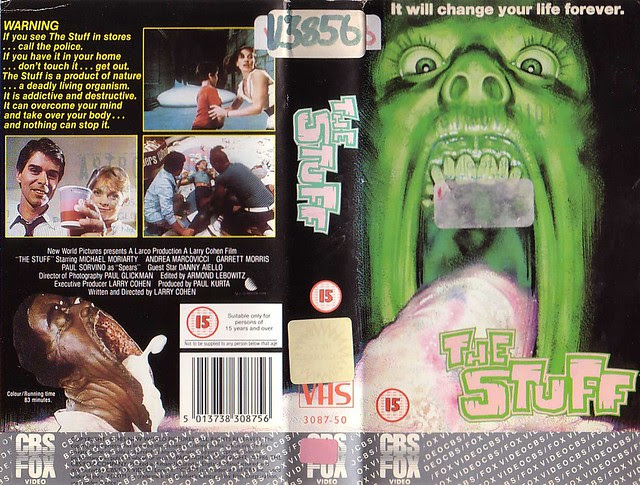 The Stuff (VHS Box Art)