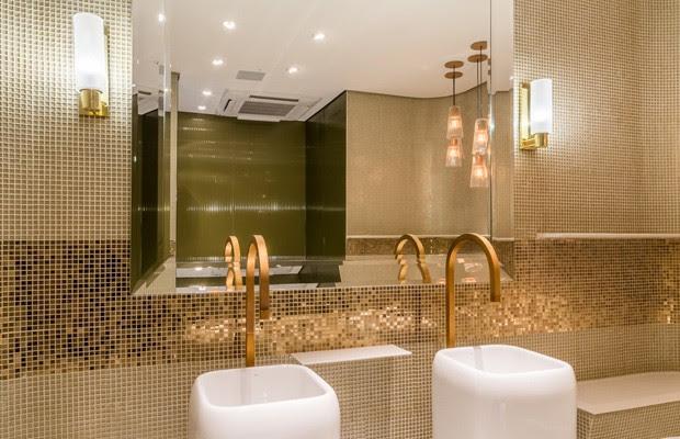 Banheiros luxuosos serão inaugurados na Rua Oscar Freire nesta quarta-feira (28) (Foto: Divulgação/Edelman Significa)