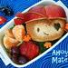 Pirate Monkey Sandwich Bento