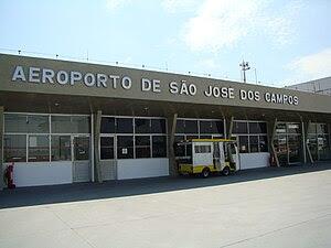 Português: aeroporto de São José dos Campos, CTA