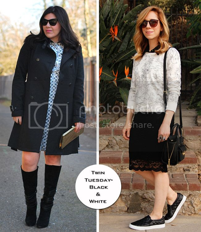 bloggers wearing the black and white fashion trend.jpg