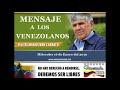 Importante Mensaje del VA(r) Mario Iván Carratú 16 de enero 2019