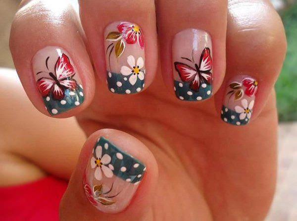 18-unhas-decoradas com-borboletas---6