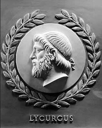 Αναπαράσταση του Λυκούργου στην Βουλή των Αντιπροσώπων (ΗΠΑ).