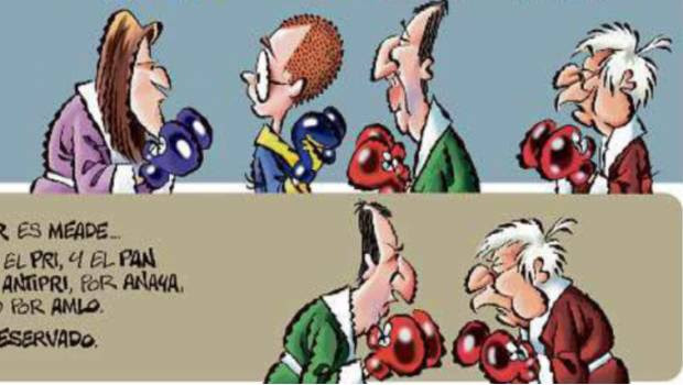 Image result for AMLO cartoon