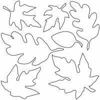 Disegno Di Foglie Da Colorare Per Bambini Disegnidacolorareonlinecom