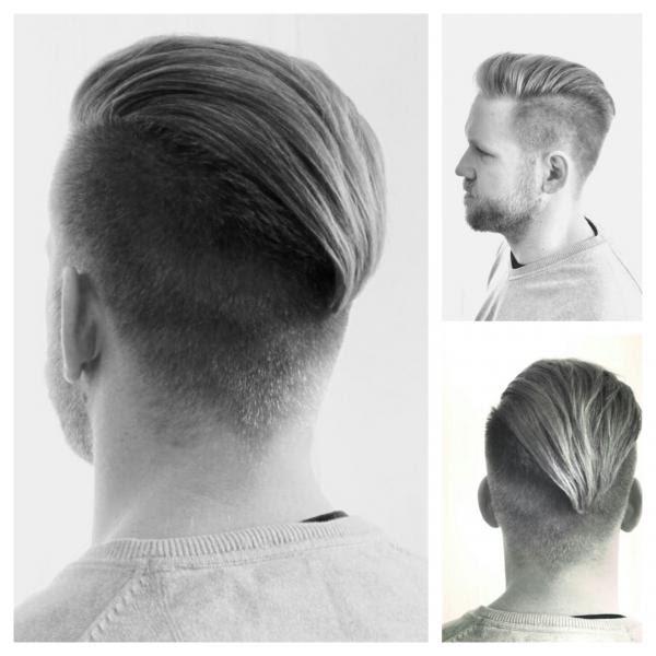 Der Etwas Längere Undercut Hairdesign Lifestylede