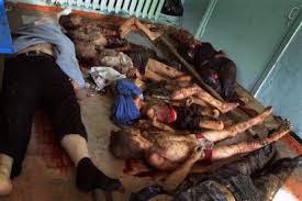 Niñas violadas y asesinadas por los terroristas
