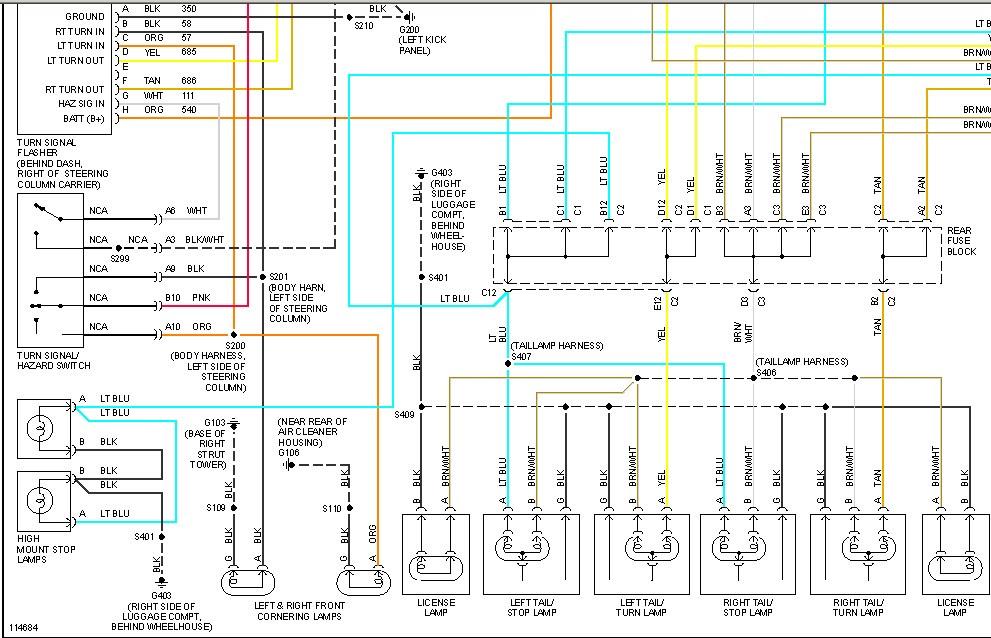 DIAGRAM 1994 Buick Park Avenue Wiring Diagram FULL ...