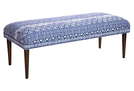 Colette 49 one kings lane tribal pattern upholstery