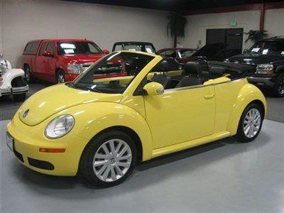 Volk Wagon Volkswagen Beetle Yellow