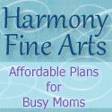 Harmony Fine Arts blog button