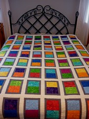 the Wedding quilt is finished