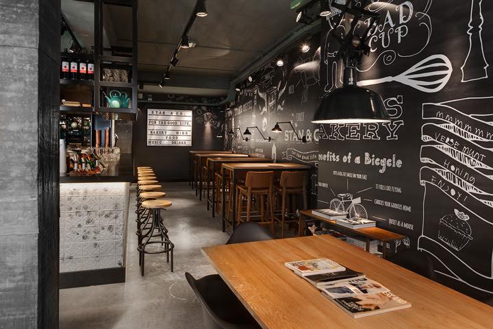 inspirasi desain interior coffee shop yang eye catching