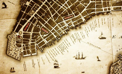 Lower Manhattan, back in the day