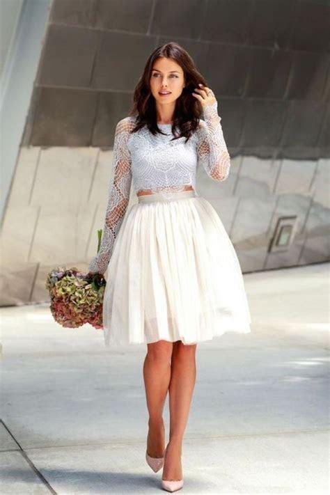 89 Stylish Courthouse Wedding Dress Ideas   Elopement