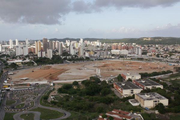 Segundo relatório do Tribunal de Contas, projeto natalense caminha lento e atingiu 11% das obras