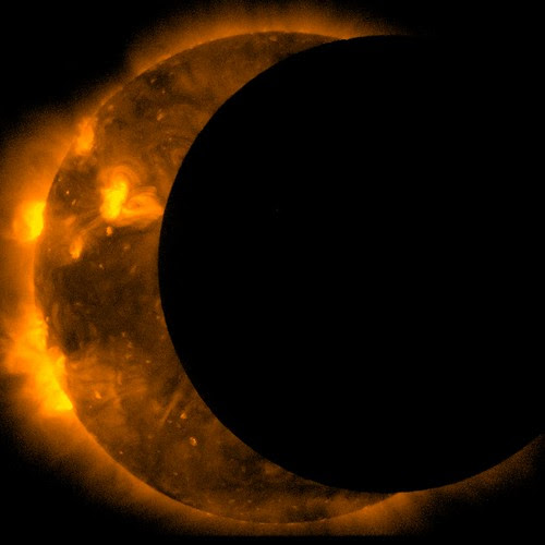 JAXA/NASA Captures 2012 Annular Solar Eclipse
