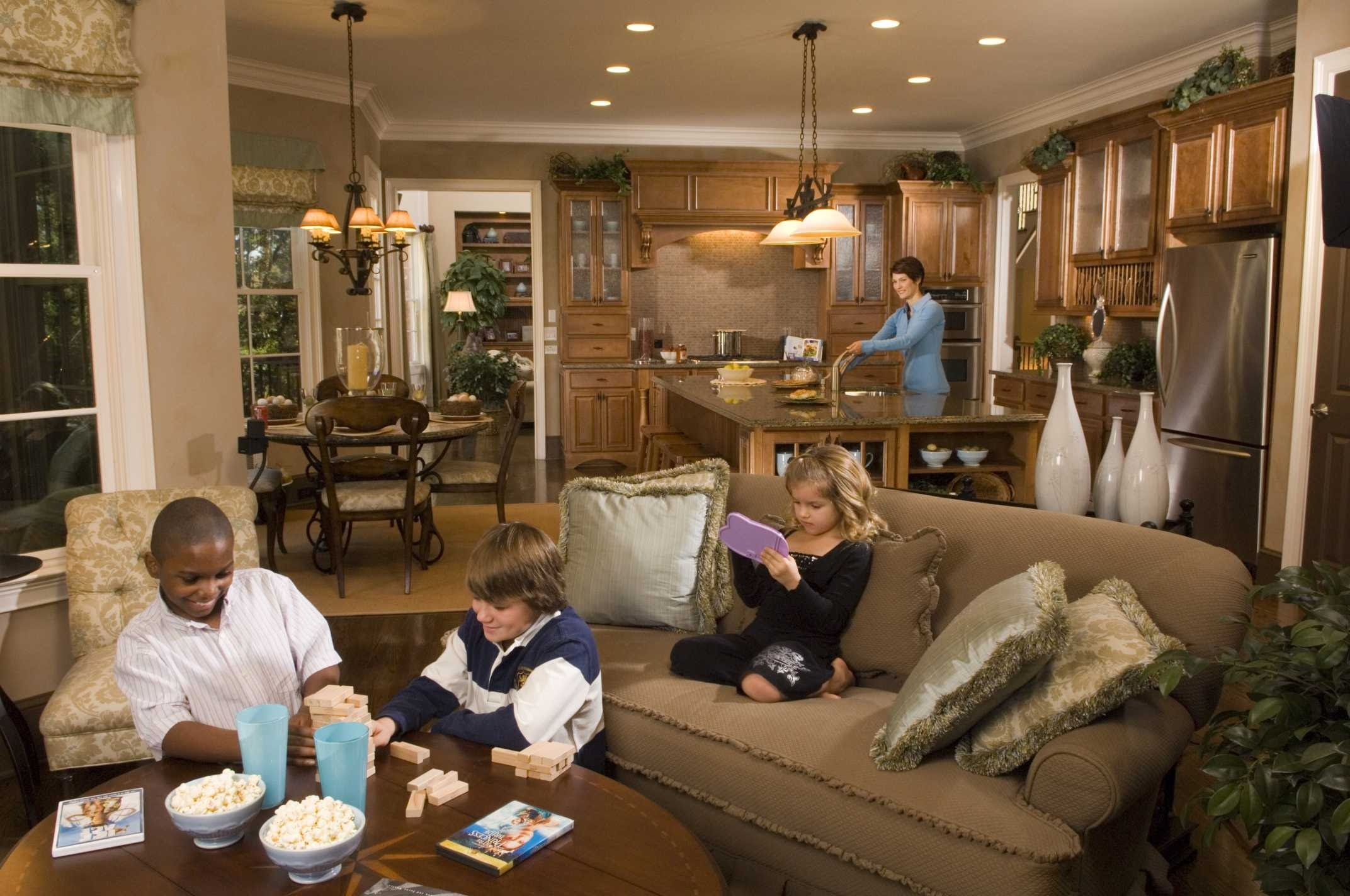 Open Concept Floor Plan Helicopter Parents Panopticon