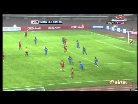 India 0-4 Bayern Munich