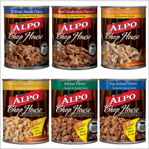 Purina Alpo canned dog food coupon, plus other pet coupons