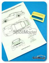 Transkit 1/24 Reji Model - Porsche 911 ducktail rear spoiler - aleron trasero de pico de pato - resinas para kit de tamiya TAM24328
