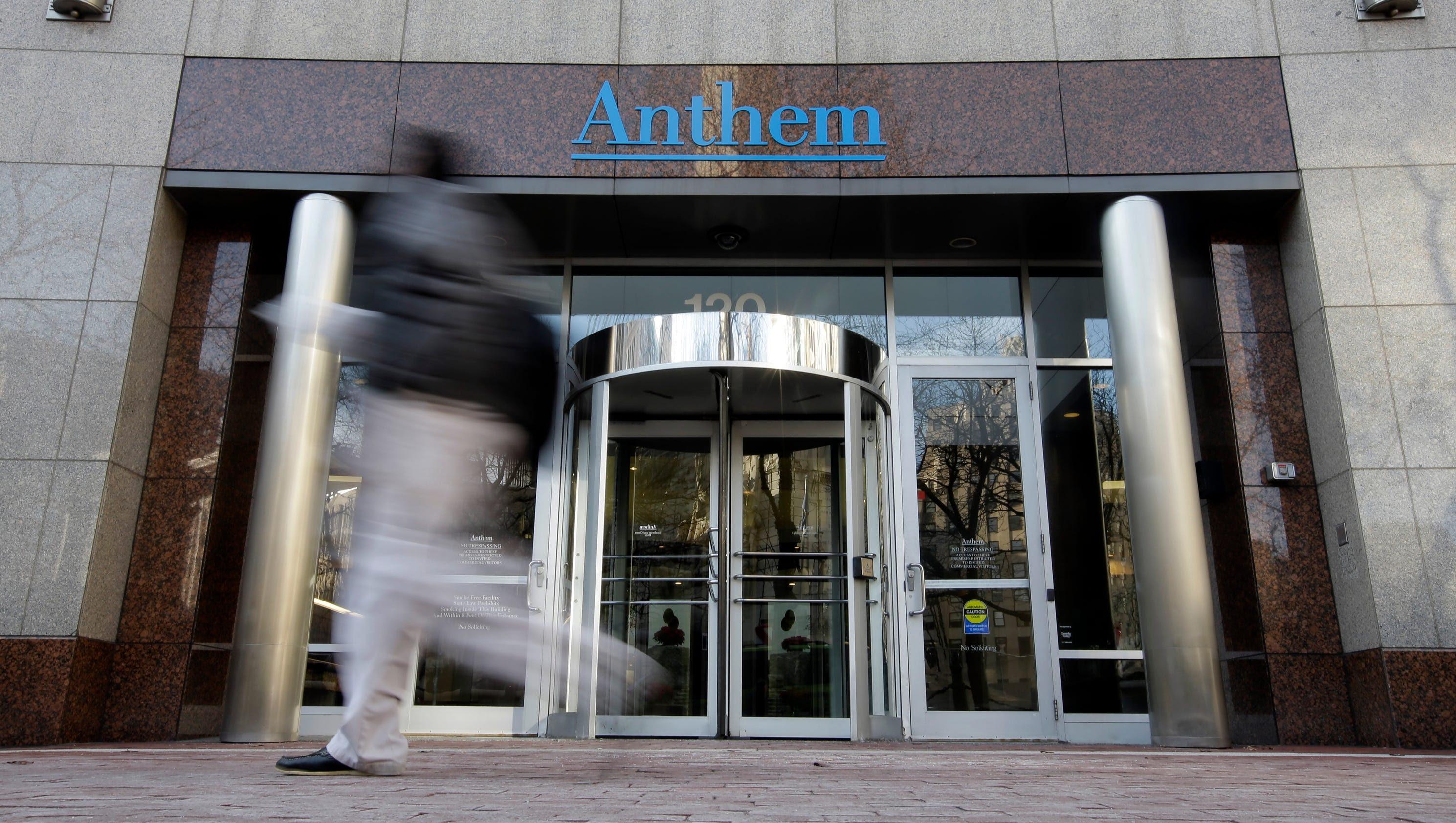 Massive breach at health care company Anthem Inc.