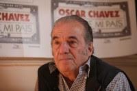 el cantautor Óscar Chávez. Foto: Germán Canseco