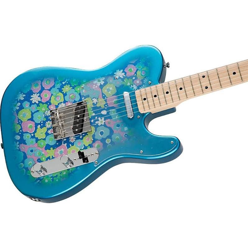 Fender Classic '69 Blue Flower Telecaster Maple Fingerboard Blue Flower at Guitar Center