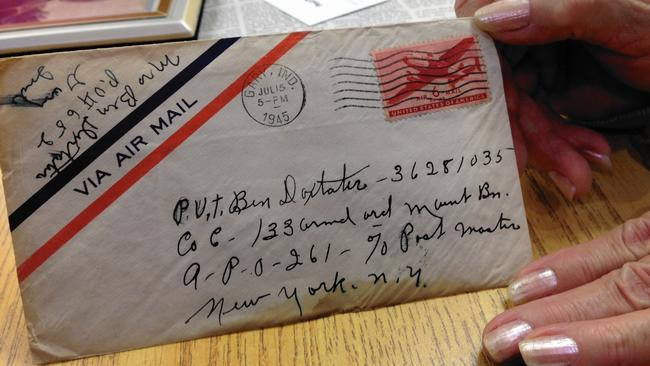 Long lost World War II love letter finally finds its way home