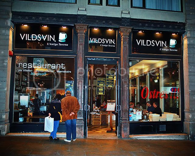 Vildsvin, The Old Tavern in Ferran Street, Barcelona [enlarge]