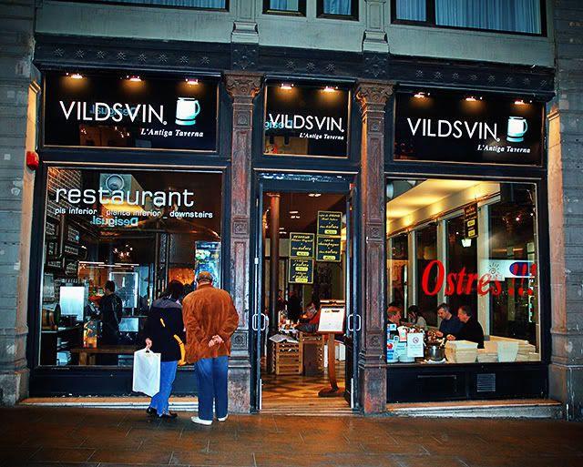 Vildsvin, The Old Tavern in Ferran Street, Barcelona [enlarge]