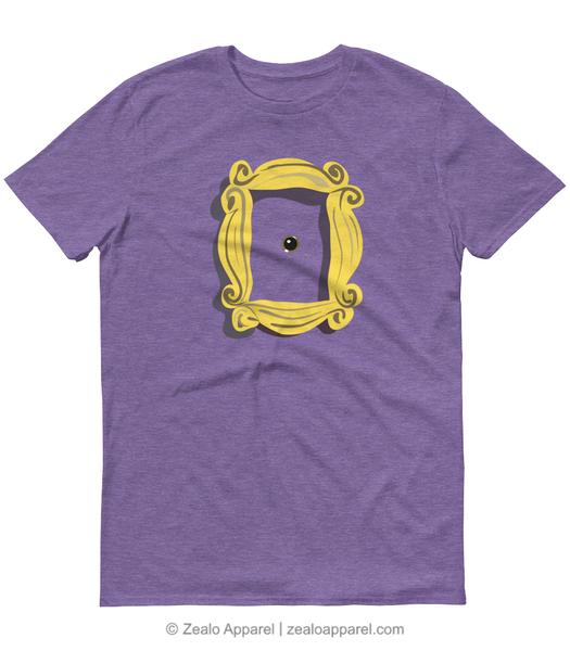 Friends Peephole Frame T Shirt Zealo Apparel