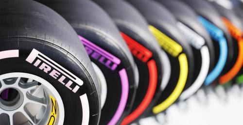 Opony Pirelli F1 Kolory