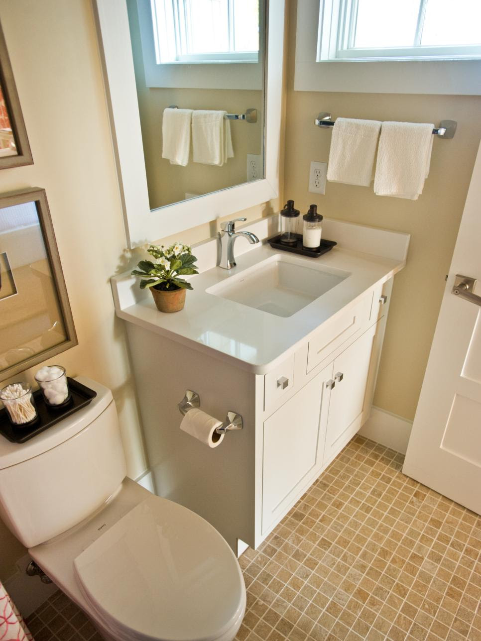 17 Clever Ideas for Small Baths | DIY