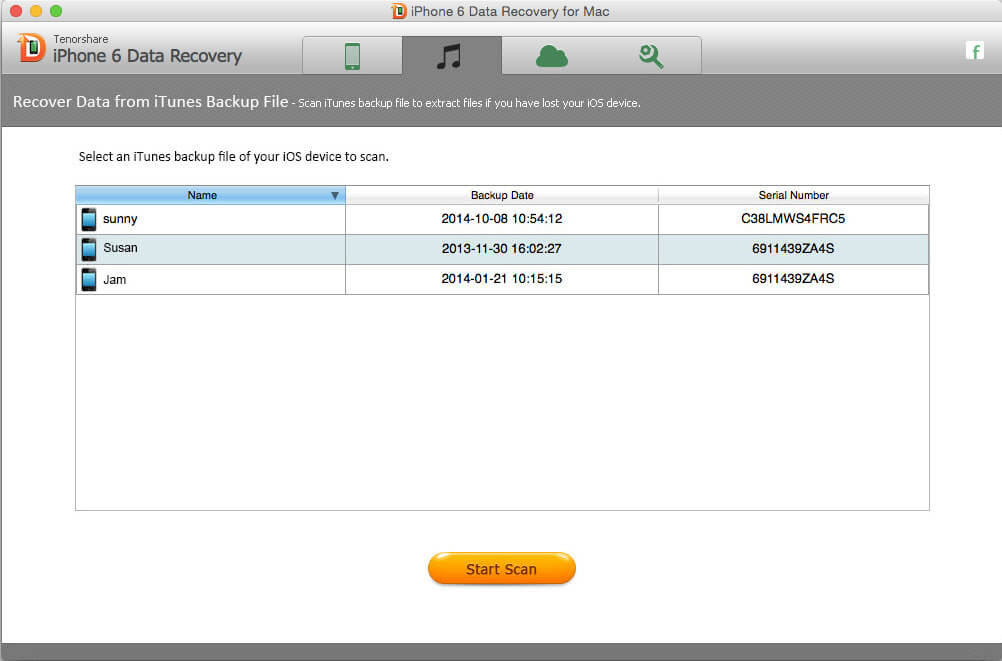 The Most Reliable Way to Recover iPhone 6s Plus\/6s\/6 Plus\/6 Data from Mac OS X