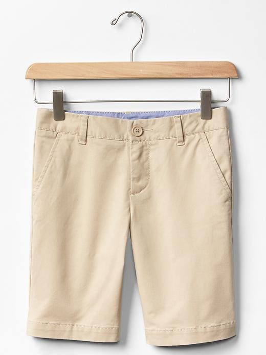 Gap Girls Stretch Bermuda Shorts