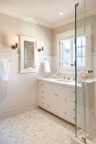 HOW I CHOSE MY MASTER BATHROOM COLOR   My Old Country House