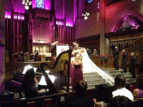 DJ/MC for Wedding   First Congregational Church of Los