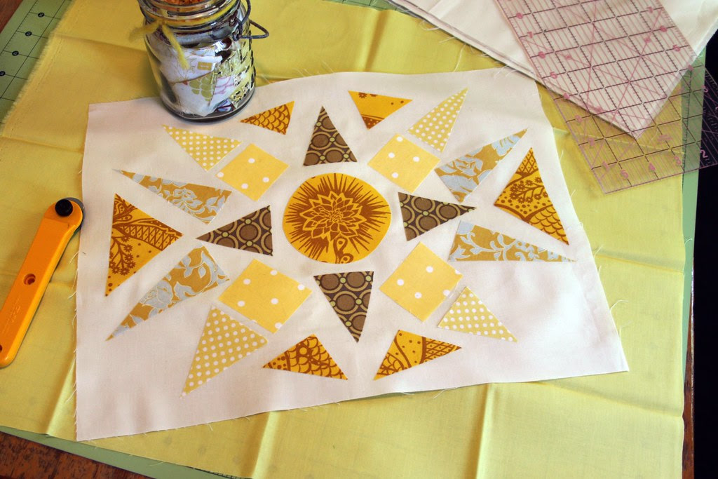 Buttercup Block -- layout