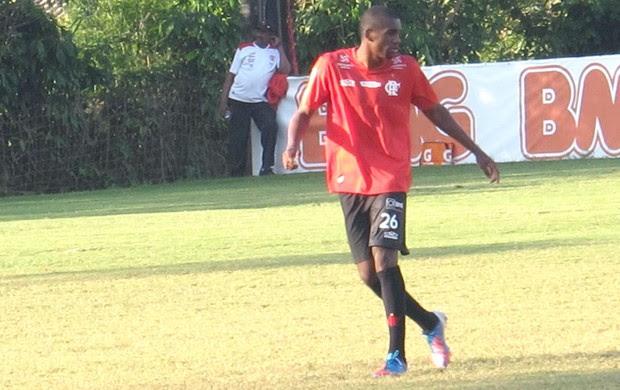Marllon, zagueiro do Flamengo (Foto: Rafael Cavalieri / Globoesporte.com)