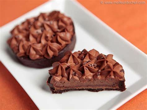 Tartelette chocolat noir et praliné feuilleté   Notre