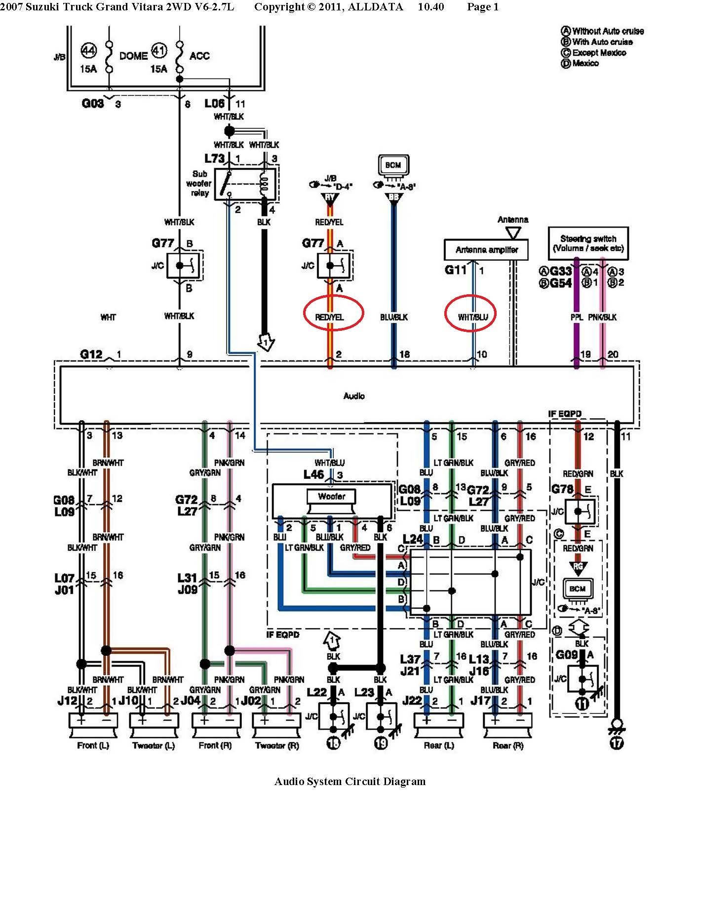 Diagram Car Stereo Wiring Diagram Suzuki Full Version Hd Quality Diagram Suzuki Diagramildah Macchineassemblaggio It