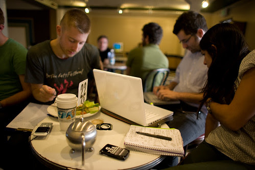 Tea and Laptops by mecredis, on Flickr