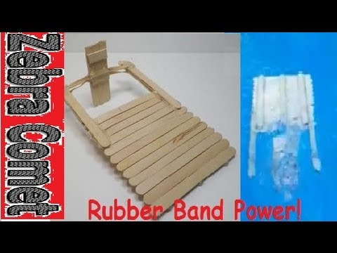 How to make a toy boat (HD) - YouTube