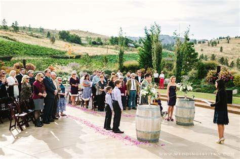 Karma Winery, Lake Chelan. Best ceremony/reception venue