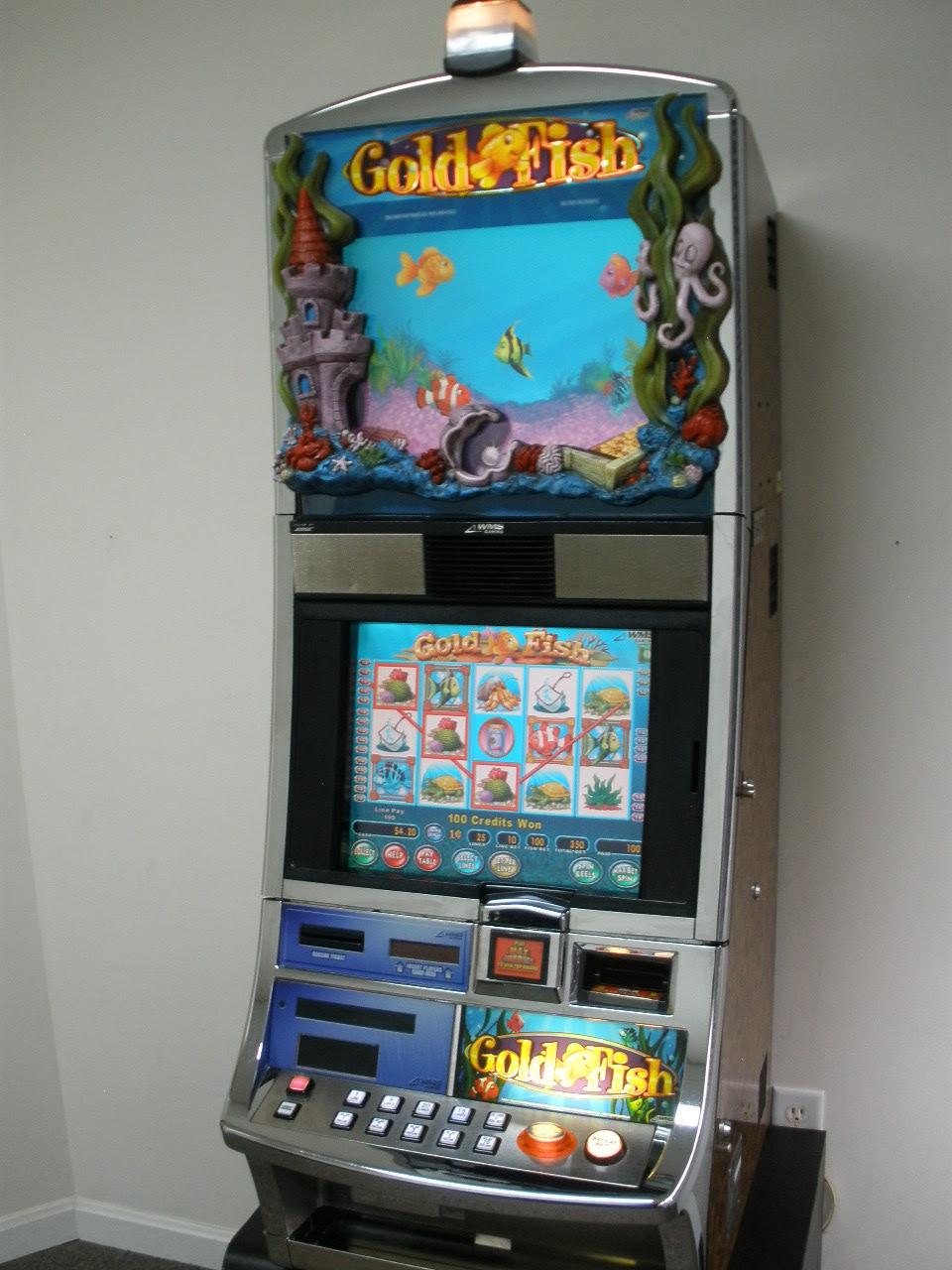 Slot machine jackpot wins