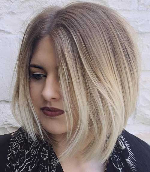 Pictures Of Long Bob Hairstyles Brunette With Blonde Wwwkidskunst